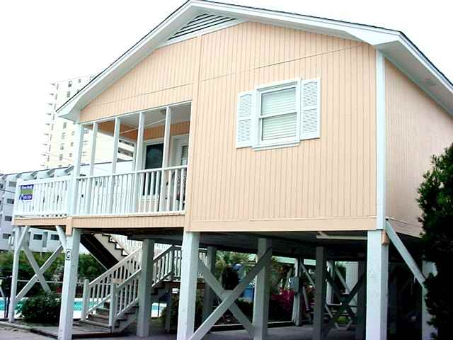 Our Newest 2BR/2BA Rental Home Is Nicely Furnished, Second Row From Ocean  And In Garden City Beach, SC. 5 Min. Drive To South Myrtle Beach.