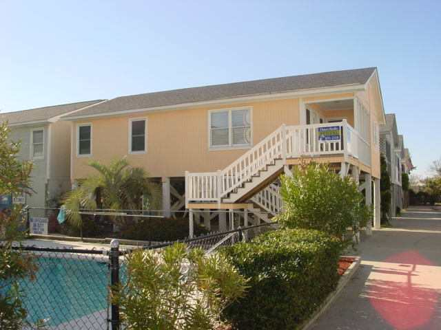 Garden City, SC Oceanview 2nd Row Raised 2BR/2BA Rental House By Owner