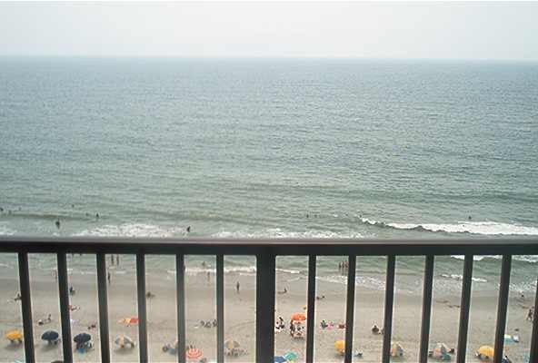 Direct Oceanfront Condo - Ocean Park #1208, Myrtle Beach, SC