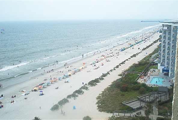 Direct Oceanfront Condo - Ocean Park #1208, Myrtle Beach, SC